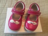 Girls Clarks shoes size 4F