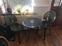 Ascot 2 Seater Bistro Patio Furniture Set
