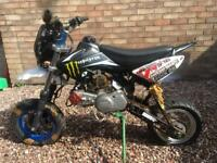 Road legal 125cc pit bike