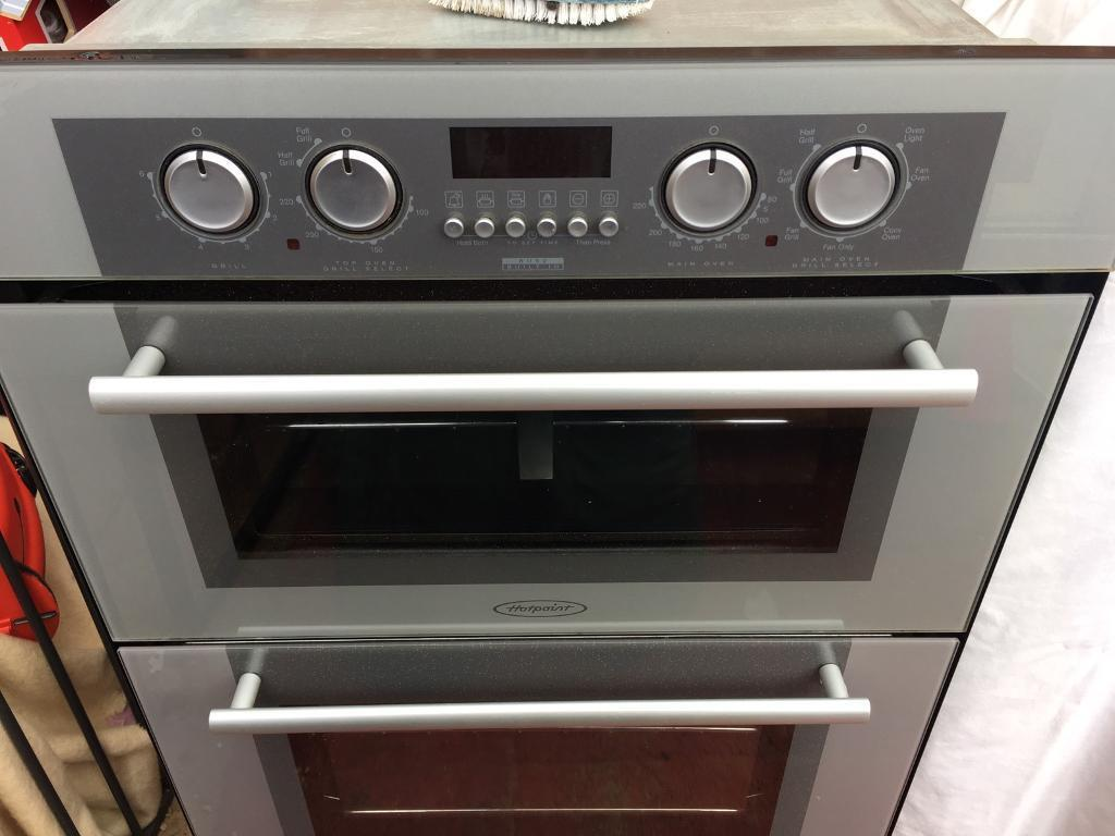 Hotpoint Electric Double Oven Built In Best 2018 Dh53ws Newstyle Builtin White Or Under Counter