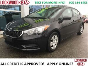 2016 Kia Forte LX - BLUETOOTH, HEATED SEATS