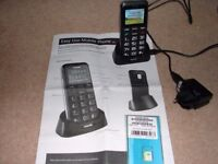 Easy use mobile phone Ondial 9861