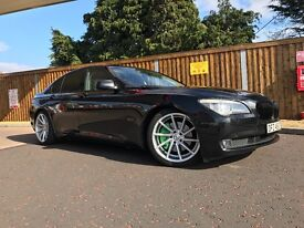 BMW 7 series 730d F01 2009 •only 53k miles• •FSH• Immaculate example •