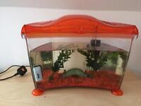 14Litre Fish Tank with filter and lights