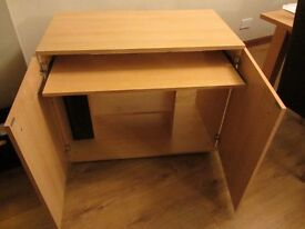Hideaway Computer Cabinet for sale