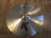 "Zildjian 20"" K Ride Cymbal (Immaculate Condition, Free P+P)"