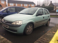 corsa 1.2 cheap runabout 250 no offers