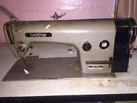 Industrial Brother B755 MKII sewing machine