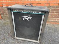 Old but working Peavey keyboard amp