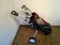 Full set & Trolley. Ready for use