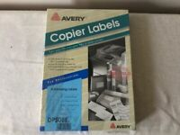 Copier Labels - 200 Sheets - For Printing Labels - AVERY Brand
