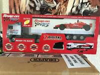 Snap on radio controlled off roader and lorry