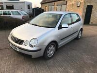 2002 Volkswagen polo 1.2 low 76k mot loads of history