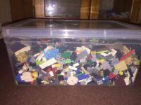Small box of lego