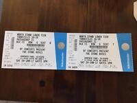 The Stone Roses Hampden Park Glasgow x 2 tickets