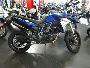 2016 bmw F800GS Comfort Racing Blue Metallic Matte