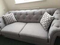 DFS GREY 3 SEATER SOFA BED. BRAND NEW!! STILL SELLING FOR £1,798!