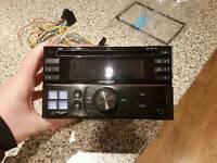 Alpine double din car stereo