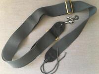 Fender guitar strap (Black in vintage look)