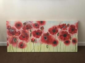Canvas , Poppy panel