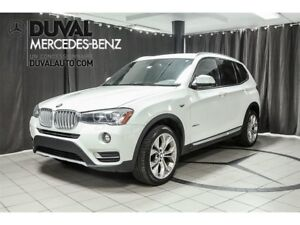 2017 BMW X3 xDrive 28i AWD CAMERA BLUETOOTH