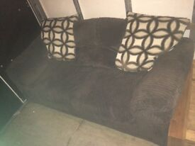 Lovely Brown 3 Seater Sofa Bed! BARGIN!