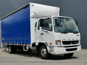 2021 Fuso Fighter 1024 White Curtain Sider Rocklea Brisbane South West Preview