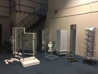 Shop fittings and retail display units