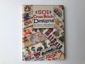 Five cross stitch books (all hardback)