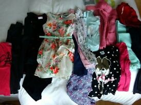 Girls clothes bundle age 5-7 years