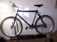 extra large rigid frame claud butler bike