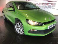 VOLKSWAGEN SCIROCCO 1.4 TSI DSG 3dr Auto (green) 2012
