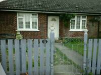 Two bedroomed bungalow Near Wickhambrook swap to Elmswell , Bury st. Edmunds or within 15 miles