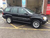 Jeep Grand Cherokee, 2002, petrol, gas, 4 wheel drive, £1995