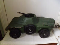 ACTION MAN ARMOURED CAR FROM 1960'S