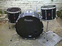 "Premier Hybrid Drums with 24"" Bass / Kick drum"