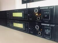 Shure UHF (U4S) MARCAD Wireless Receivers x2
