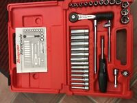 Snap on spanner sets x 2 and 1/4 Drive Socket set
