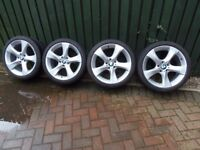 BMW X1 E84 alloy wheels and tyres 19""