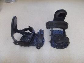 Emery snowboard bindings old spare parts
