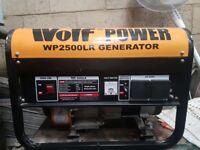 Wolf Power Generator WP2500LR Petrol