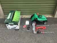 Qualcast E37 electric rotary lawn mower