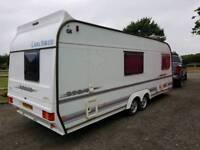 Coachman laser 590/4 Twin axle 4 berth caravan