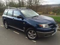 2004 Mitsubishi Outlander Equippe mivec 2.4 Automatic Bi - Fuel ( lpg Gas ) parking sensors