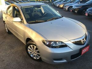 2007 Mazda MAZDA3 GS/AUTO/LOADED/ALLOYS
