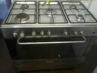 Range dual fuel cooker