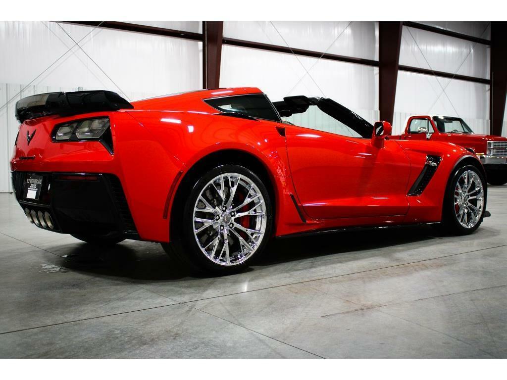 2016 Red Chevrolet Corvette Z06 3LZ   C7 Corvette Photo 5