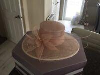 Phase eight wedding hat