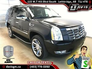 Used 2013 Cadillac Escalade AWD-7 Passenger, Heated/Cooled Seats