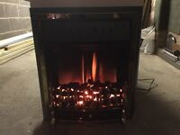 Burley Rotherby Electric Fire.